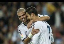 Euro 2016 Pepe Cristiano Ronaldo