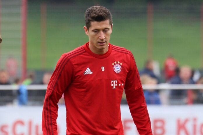 Bayern Monaco Robert Lewandowski Polonia