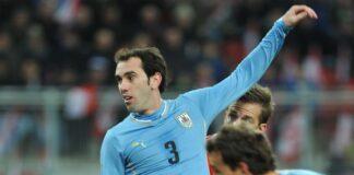 Diego Godin Inter Cagliari Uruguay