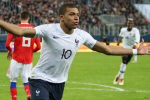 Kylian Mbappè Francia Paris Saint Germain PSG