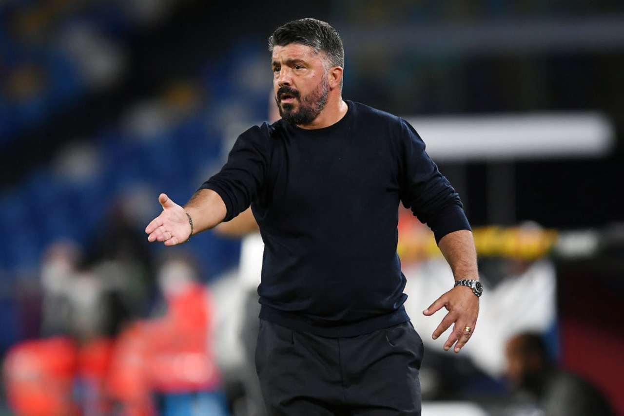 Gattuso, il rinnovo col Napoli come prossimo passo (Getty Images)