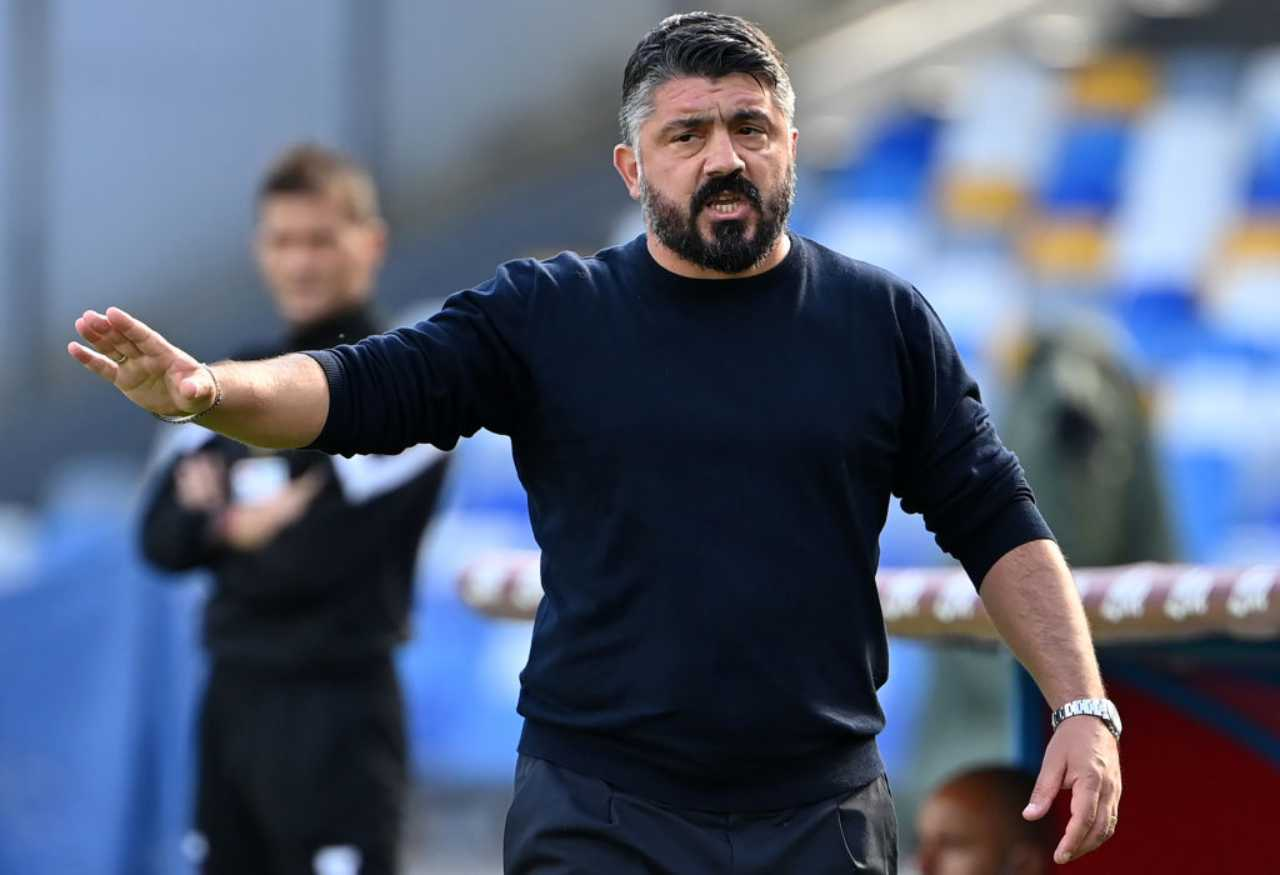 Gattuso, cosa accade per Benevento-Napoli (Getty Images)