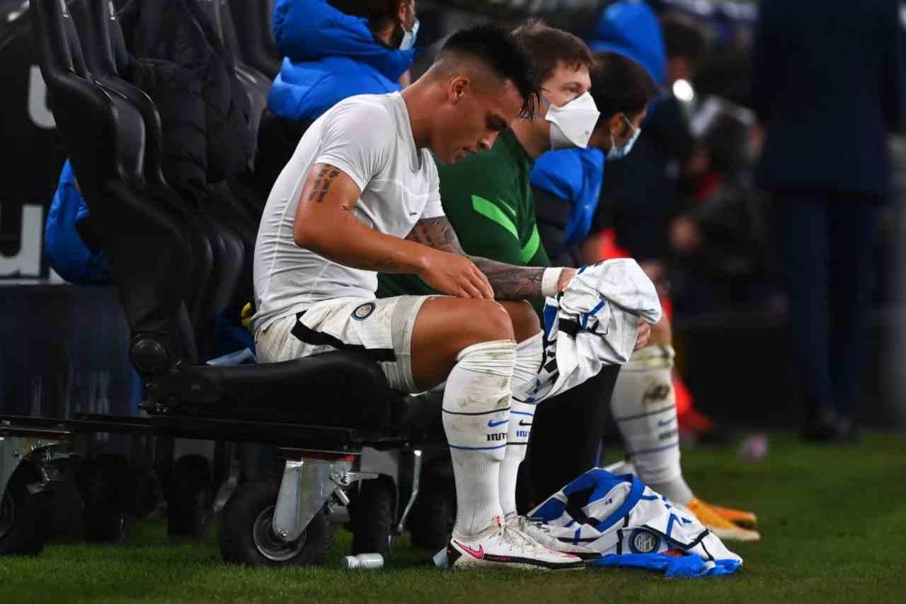 Lautaro Martinez, la rabbia in Genoa-Inter (Getty Images)