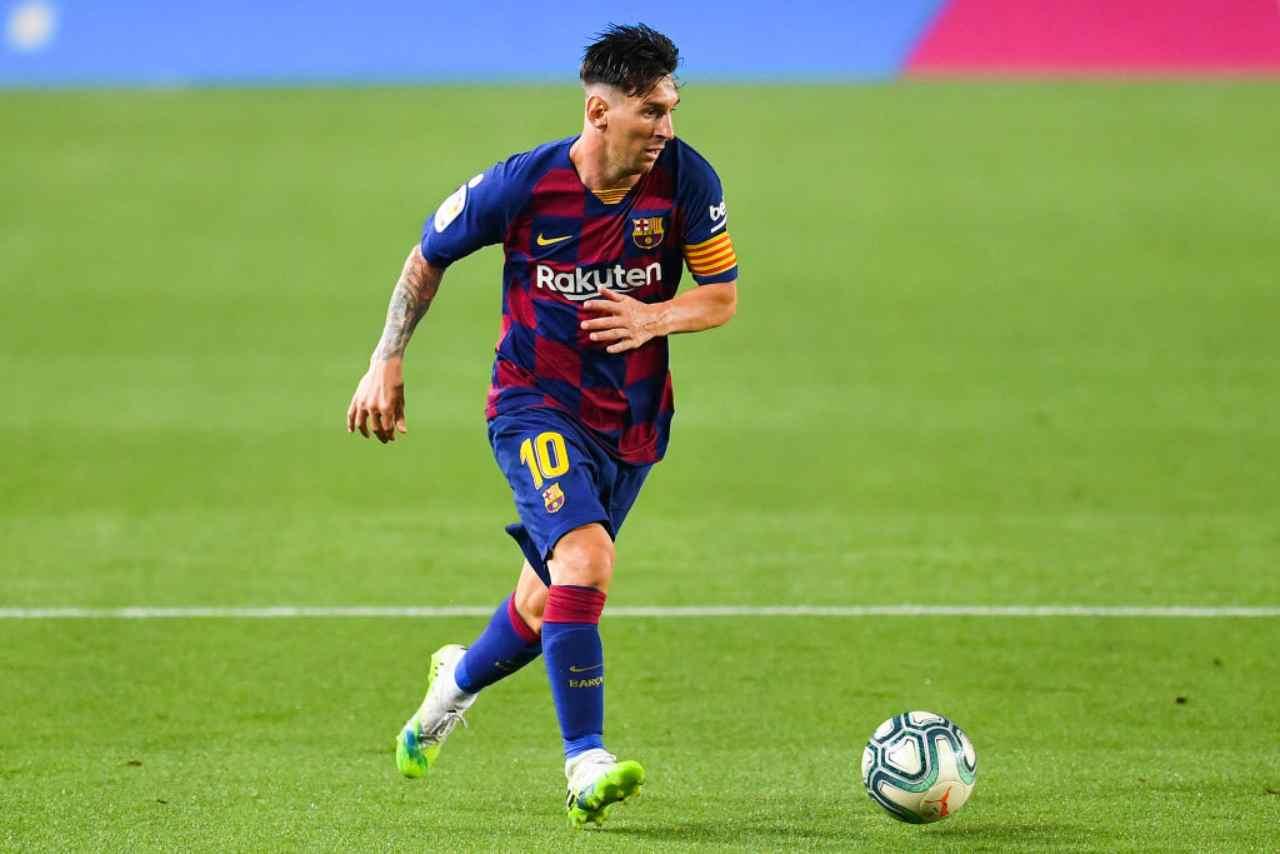 Messi, la rabbia di Tebas con il Manchester City (Getty Images)
