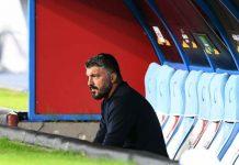 Gattuso, smentita la lite con i calciatori del Napoli (Getty Images)
