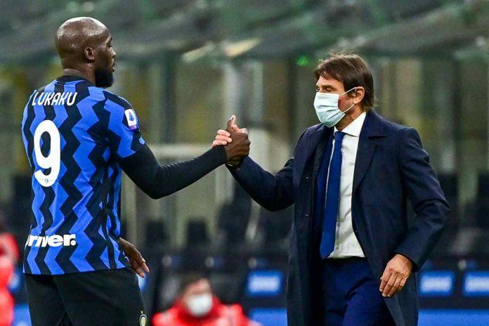 Lukaku saluto Conte