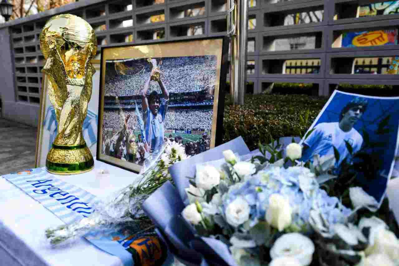 Maradona, l'addio dei tifosi (Getty Images)