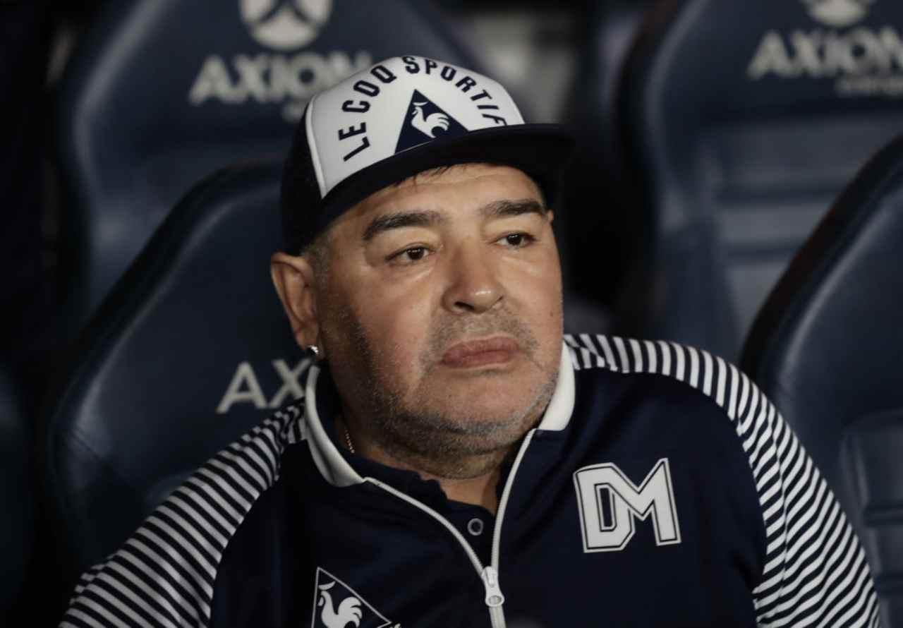 Maradona, Cassano parla del fuoriclasse argentino (Getty Images)