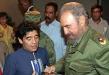 Maradona politico, storia dell'amicizia con Fidel Castro