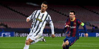 Messi Ronaldo Real Barca Juve (Getty Images)