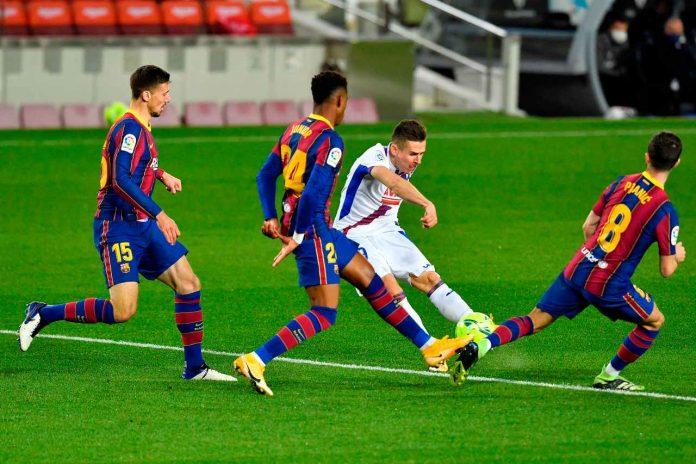 Liga, Barcellona senza Messi: pari in casa contro l'Eibar
