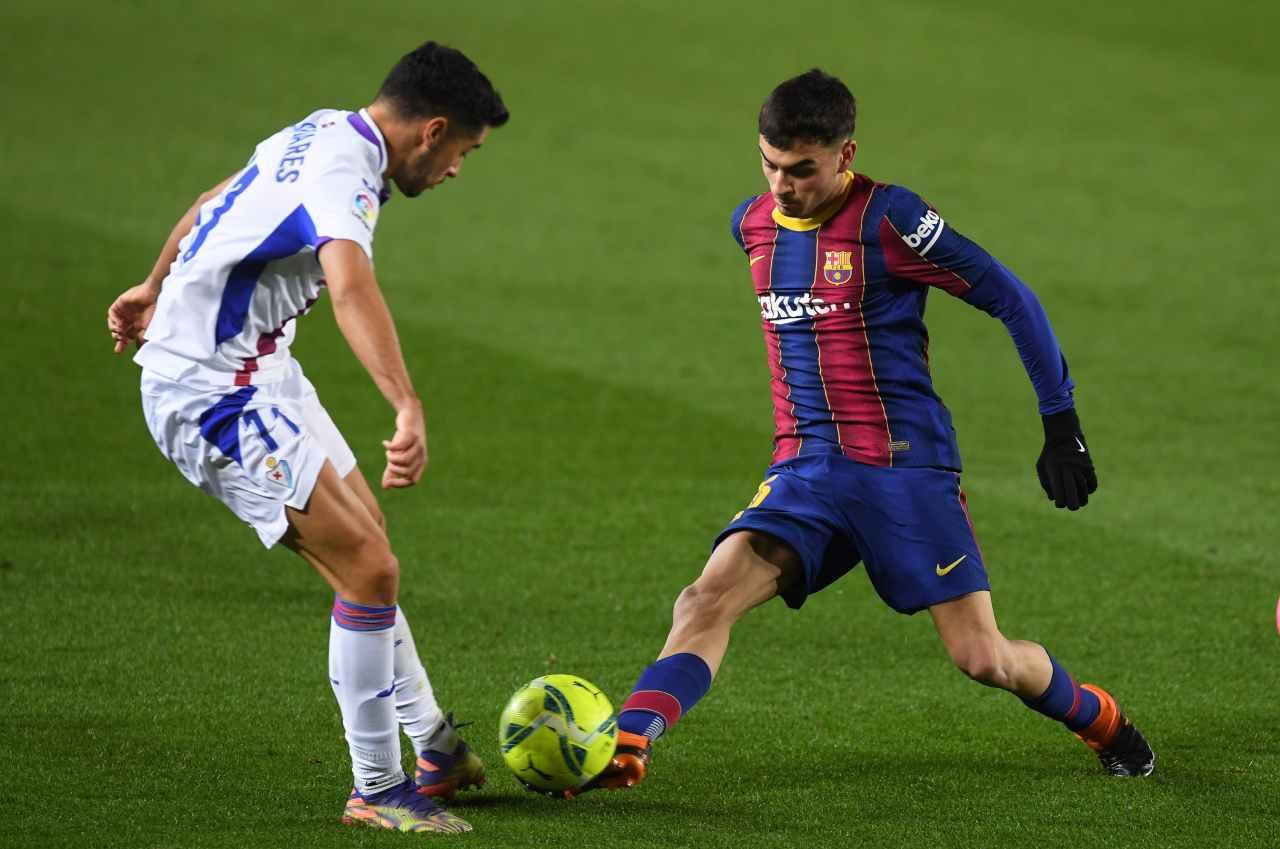 Liga, Dembelé salva il Barcellona