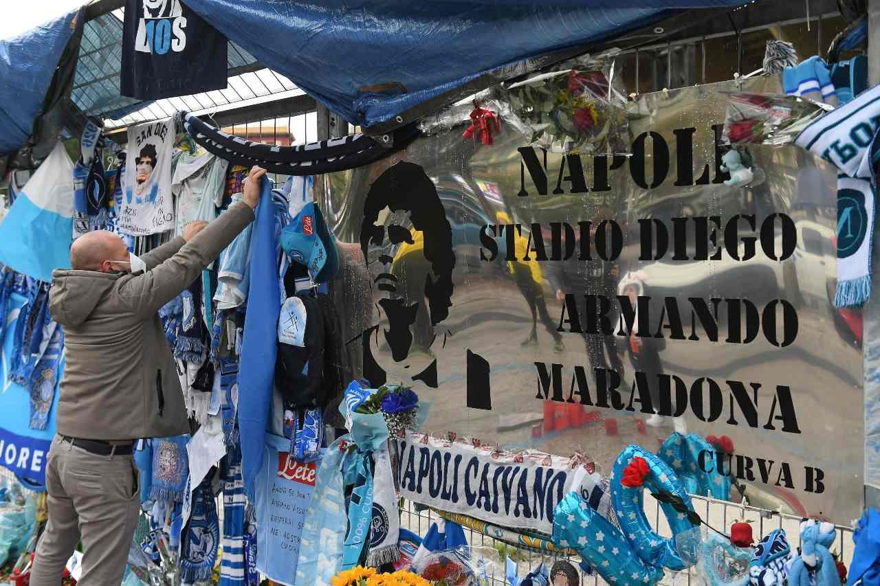 Napoli-Sampdoria, prima in Serie A allo stadio Maradona: un segno del destino