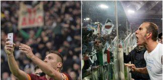 Lazio-Roma: Di Canio e il selfie di Totti, le esultanze nella storia del derby