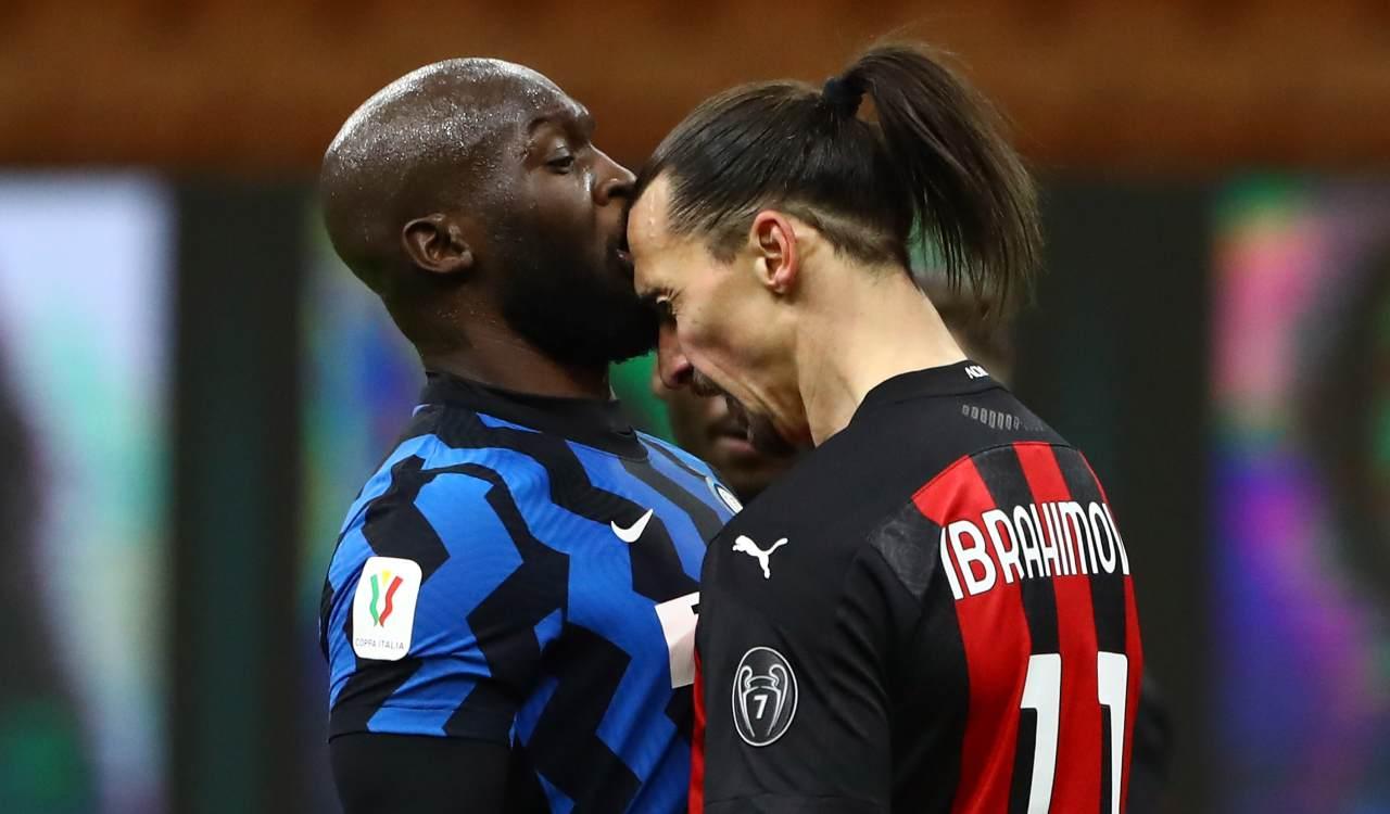 Derby Milan Inter Lukaku Ibra Theo Hakimi