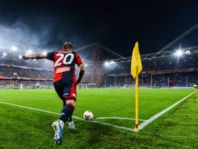 Calcio d'angolo Genoa - Getty images