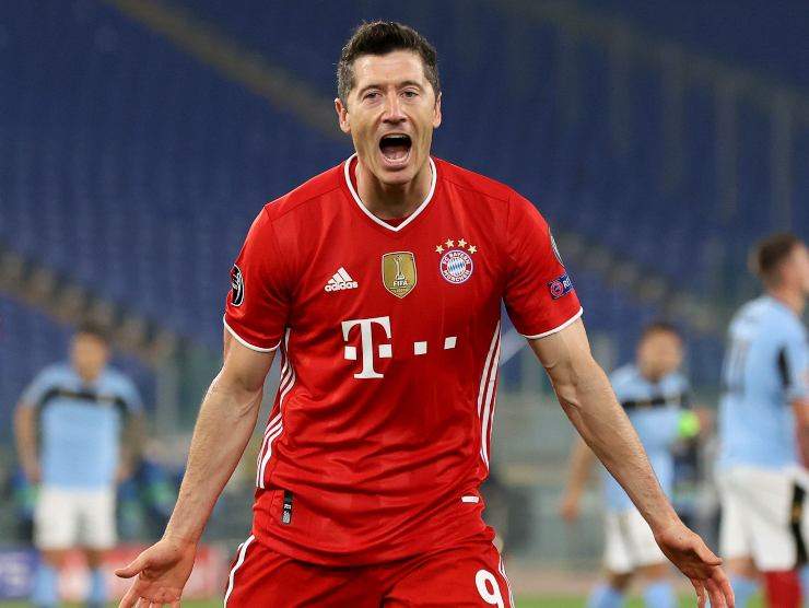 Robert Lewandowski esulta - Getty Images