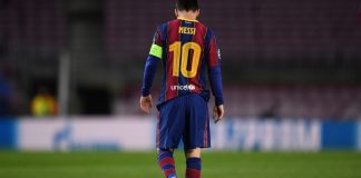 Messi a testa bassa - Getty images