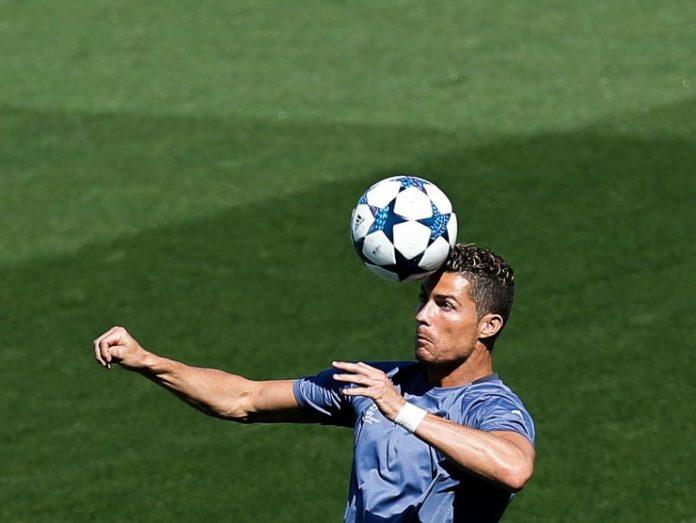 Ronaldo di testa - Getty images