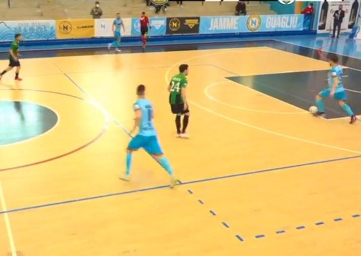 Napoli vs Melilli - screenshot web