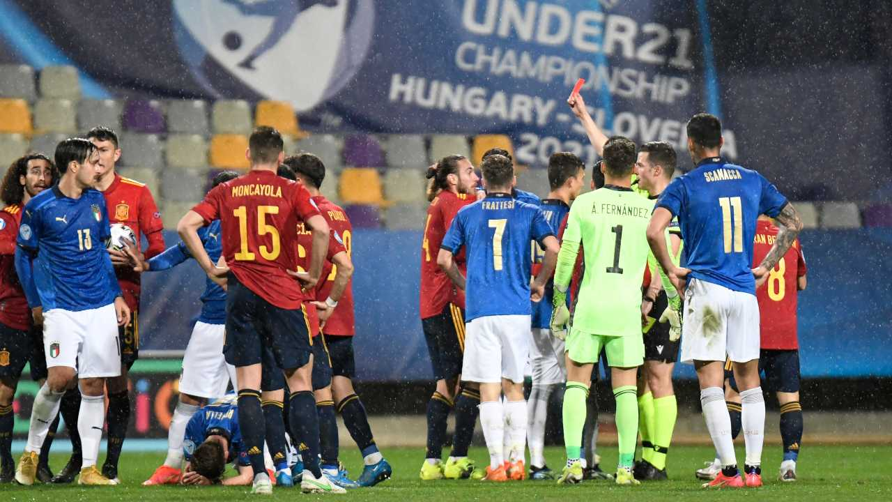 Spagna Italia Under 21 accuse