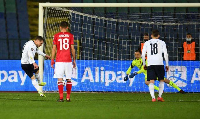 Italia Bulgaria Belotti record