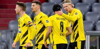 Borussia squadra su twitter