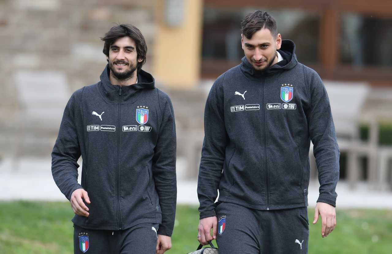 Juventus mercato portieri Perin Donnarumma