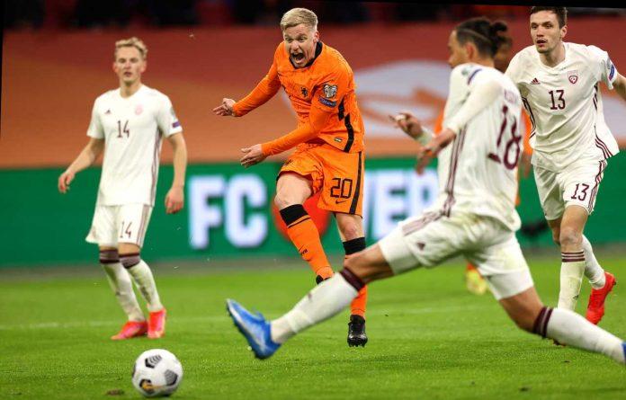 Van de Beek salta Euro 2020