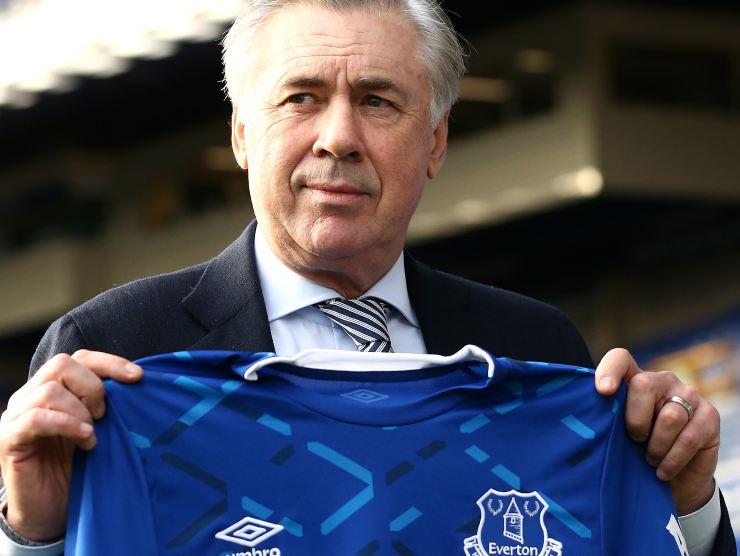 Ancelotti Everton - Getty images