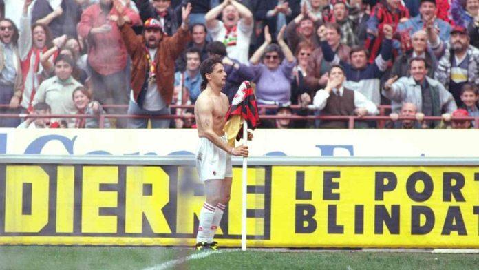 Baggio al Milan - Getty images
