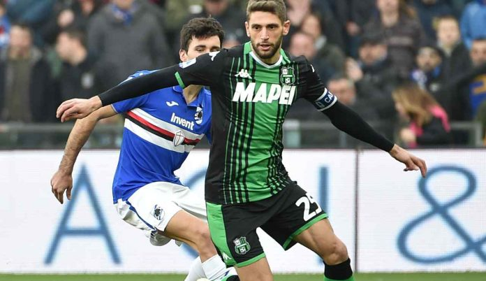 Berardi vs Sampdoria- Getty images
