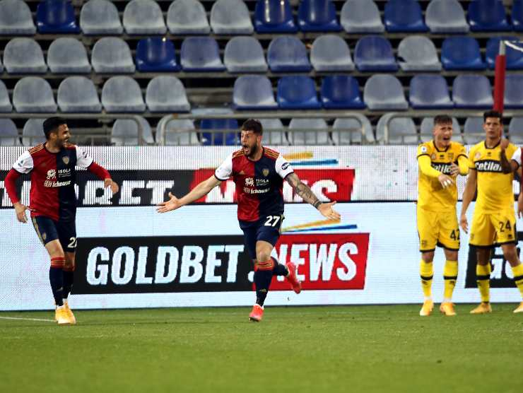 Cagliari gol