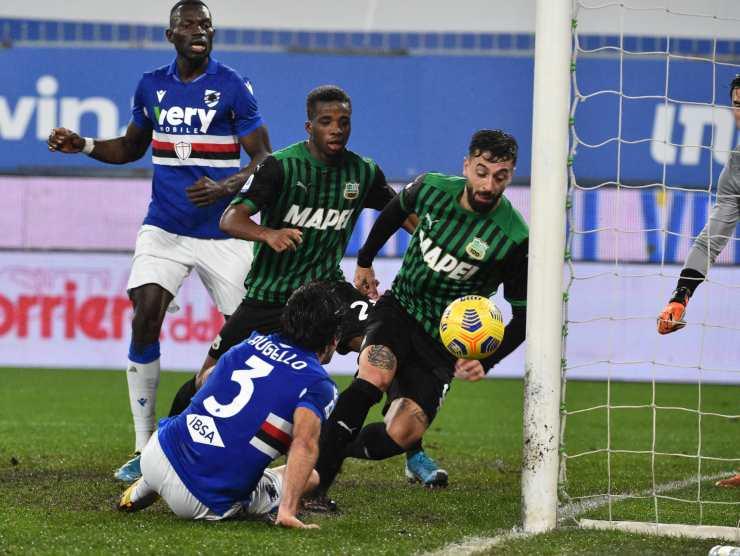 Caputo vs Sampdoria Getty Images