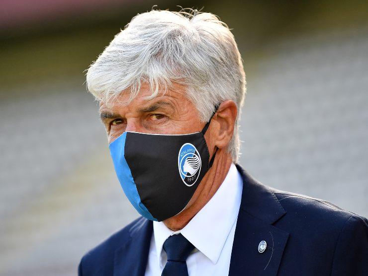 Gasperini in maschera - Getty Images