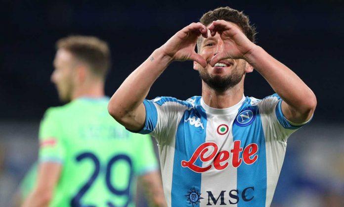 Mertens gol Migliore Napoli