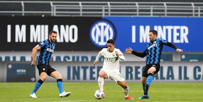 Inter Sassuolo rigore Lautaro