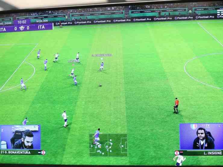 calcio videogiochi