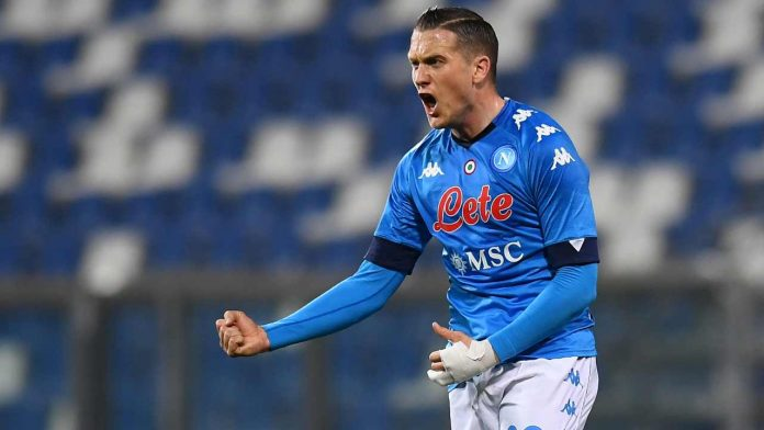 Napoli risultati tampone Zielinski