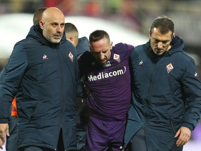 Ribery accompagnato - Getty images