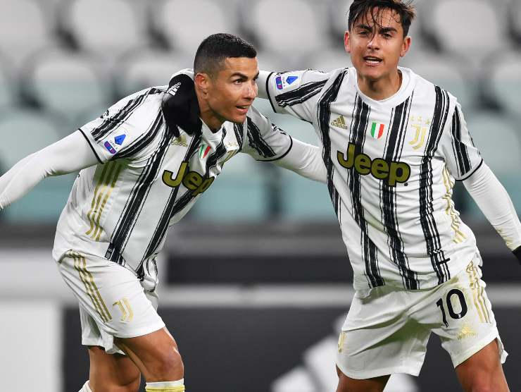 Ronaldo & Dybala - Getty images