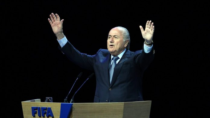 Sepp Blatter show - Getty images