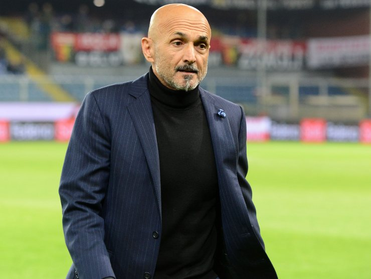 Spalletti corrucciato - Getty images
