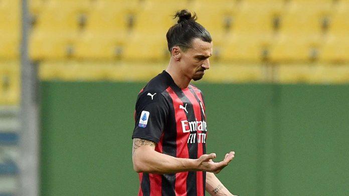 Zlatan Ibrahimovic Milan non convocato