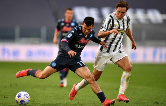 Juventus Napoli rigore chiesa