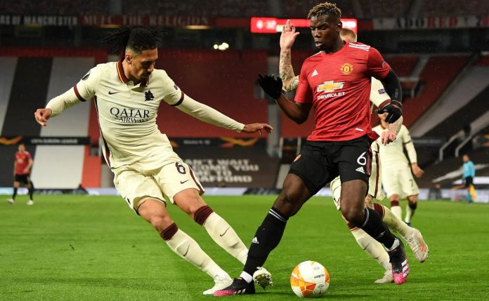 Manchester Roma rigore