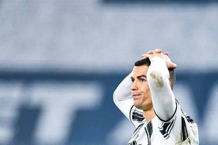 ronaldo sbaglia gol