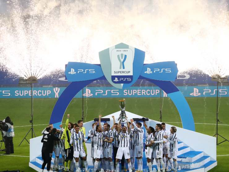 Trionfo Juve Supercoppa - Getty images