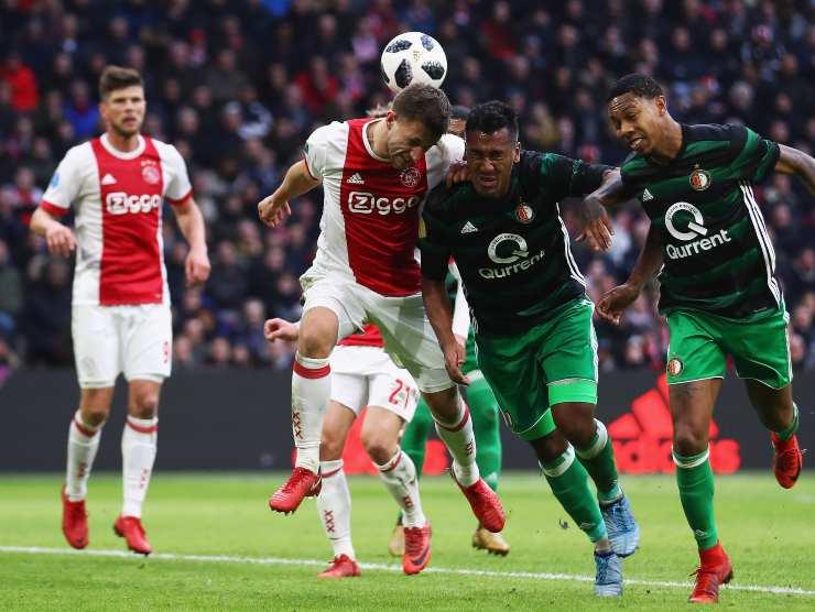 Ajax in azione - Getty Images