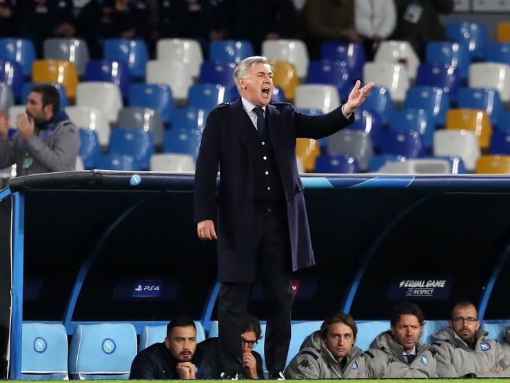Ancelotti al Napoli - Getty Images